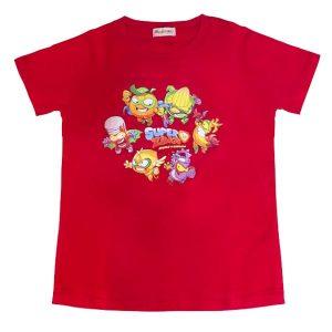 camiseta superzings serie 1 roja