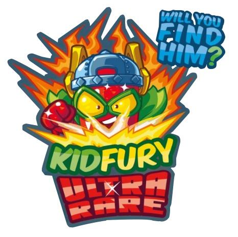 Kid Fury Ultra Raro SuperZings serie 5