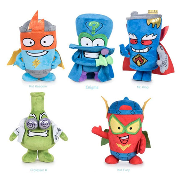peluches superzings pack