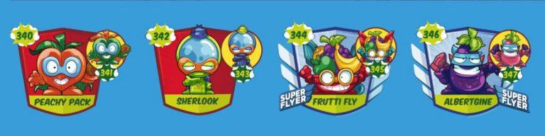 SuperZings serie 5 lista personajes fila 2