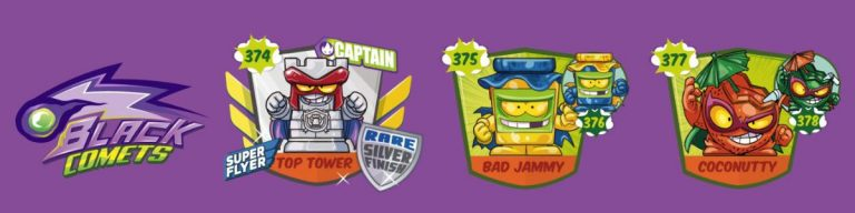 SuperZings serie 5 lista personajes fila 7
