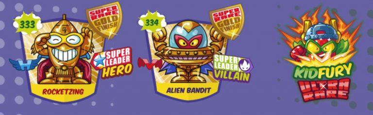 superzings serie 5 lista personajes lideres