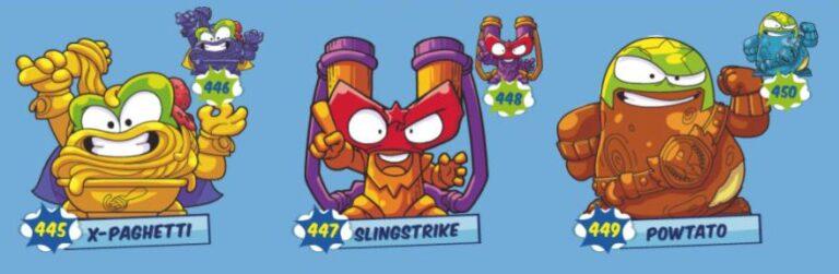 Superzings serie 6 Action Squad