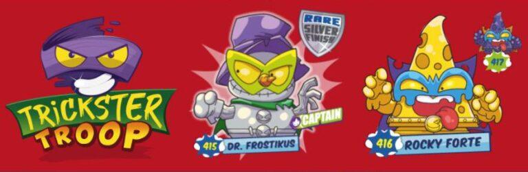 Superzings serie 6 Trickster Troop